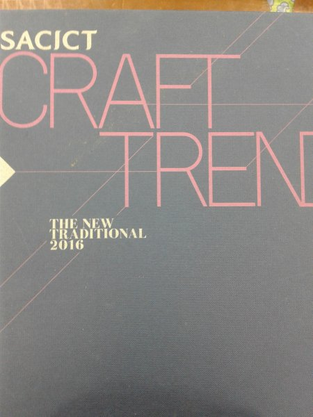 SACICT CRAFT TREND THE NEW TRADITIONAL 2016